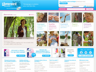 Librement-feminin.fr - Protection incontinence - produits et solutions de protection urinaire -TENA