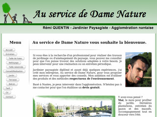jardinier paysagiste nantes r mi quentin au service de dame nature. Black Bedroom Furniture Sets. Home Design Ideas