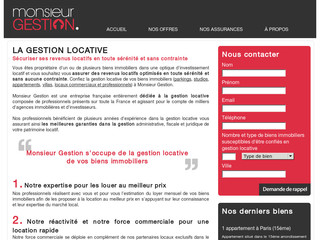 Gestion locative - MonsieurGestion.com
