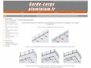 Garde-corps-aluminium.fr - Solutions de protection collectives