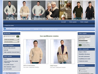 Val-collections.fr - Vente en ligne de pullovers