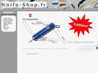 Knife-shop.fr - Coutellerie en ligne