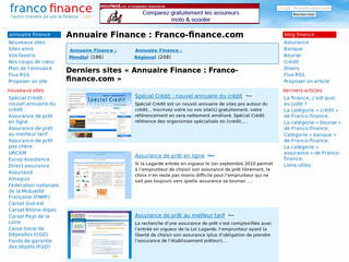 Guide de la finance - Franco-finance.com