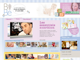Leader Price Bébé - L'univers nutritionnel de bébé - Leaderpricebebe.fr