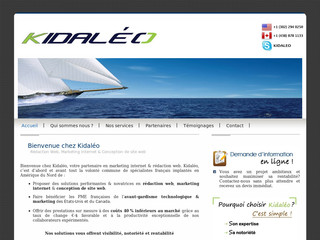 Kidaléo - agence de marketing Internet et rédaction web - Kidaleo.com
