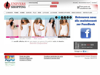Univers Shopping - Universshopping.com