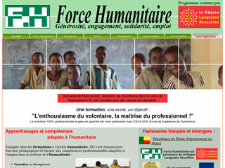 Formation en humanitaire avec Forcehumanitaire.fr