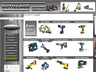 Outillage-distrib.fr - Comparateur de prix en outillage