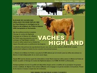 Vaches Highland sur vaches-highland.com