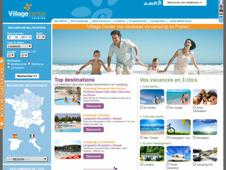 Village Center Loisirs - Campings en France, Italie, Espagne - Campings.village-center.fr