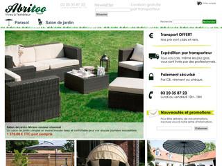 Abritoo.fr - Salon de jardin discount en bois, teck et ...