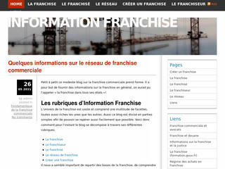 Guide de la franchise en France - Information-franchise.com