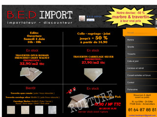 Bedimport.com - Carrelage pierre naturelle
