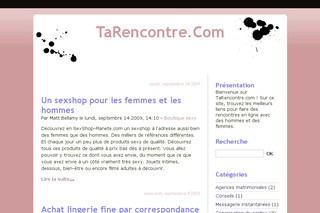 Tarencontre.com : Club de rencontre