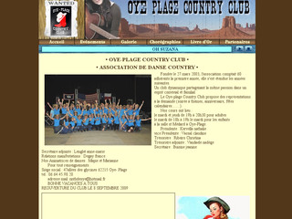 Oyeplagecountryclub.com : Danse Country