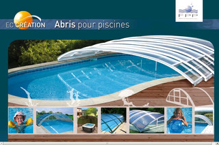 Eccreation.fr : Abri piscine bas