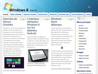 Windows 8 France - Windows8.free.fr