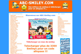 Abc-smiley : smiley et emoticone pour msn