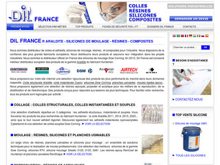 Dil France : silicone pour moulage rtv - Dilfrance.com