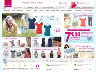 Camaieu.fr - Boutique Camaieu, prêt à porter femme en ligne