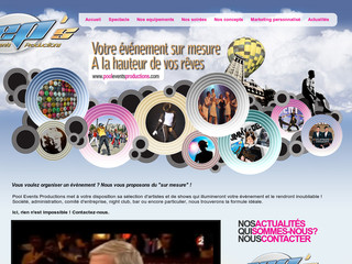 Evenementiel et production - Pooleventsproductions.com