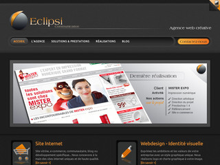 Agence web Eclipsi Communication - Eclipsi-communication.fr