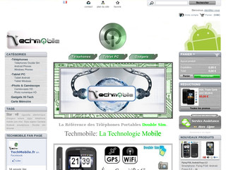 Techmobile - Smartphones Android et téléphone double sim - Techmobile.fr