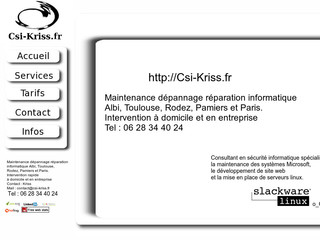 Informatique à Albi, Toulouse, Rodez, Paris - Csi-kriss.fr