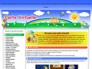 Carte-virtuelle.net : Carte virtuelle anniversaire