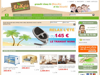 Etikolo.com - Vente en ligne de la chambre bébé enfant et des ...