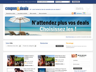 Coupon and Deals - Revendez vos deals - Couponandeals.fr