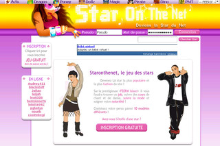 Star on the net : Devenir une star sur Internet avec Staronthenet.com