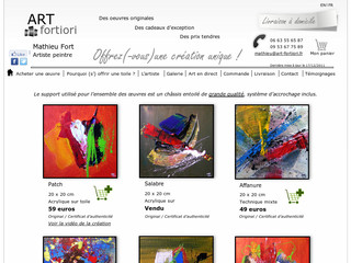 Artiste peintre - Mathieu Fort - ART Fortiori - Art-fortiori.fr
