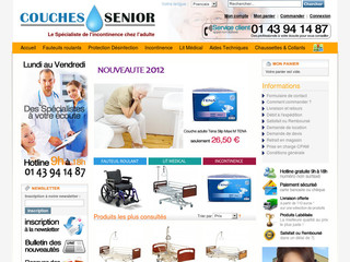 Couches Incontinence Urinaire - Couches-senior.com