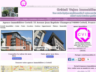 Agence immobiliere - Creteil-immobilier.fr