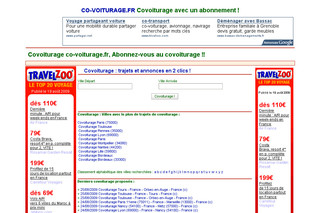 Co-voiturage.fr : Covoiturage