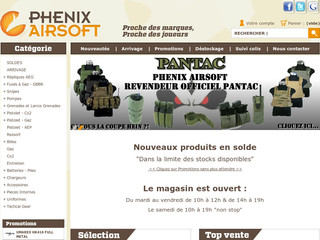 Airsoft, réplique d'armes - Phenix Airsoft - Phenixairsoft.com