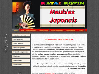 Vente de meubles japonais et mobilier zen meubles for Ameublement japonais