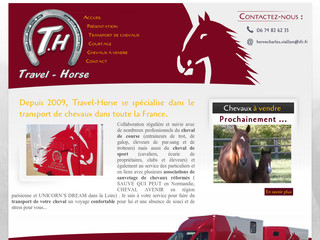 Travel Horse - Transport de chevaux - Transports-chevaux.fr