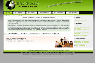Inolam-formation.fr : formations professionnelles