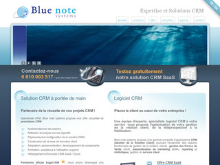 Expertise et Solutions CRM Blue note systems - Bluenote-systems.com