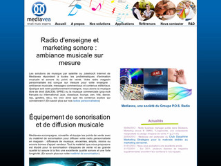 Mediavea, marketing sonore point de vente - Mediavea.com