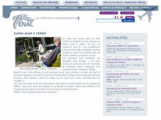 Ecole Nationale de l'Aviation Civile - Enac.fr
