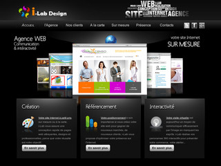 Conception sites web pas cher avec I-lab.fr