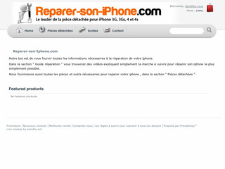 Ecran iphone 4 avec Reparer-son- iphone.com