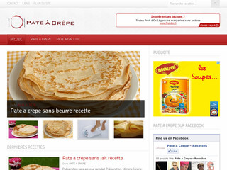 Pate a Crepe - Top recettes - Pate-a-crepe.tv