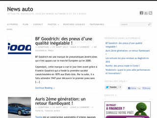Blog automobile sur News-auto.fr