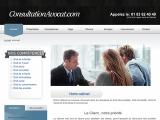 Consultation avocat pour divorce, licenciement - Consultationavocat.com