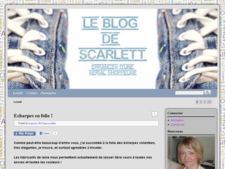 Le blog de Scarlett, errances d'une serial shoppeuse - Leblogdescarlett.com