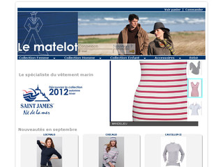 Vêtements marins St James mode marine - Lematelot.com